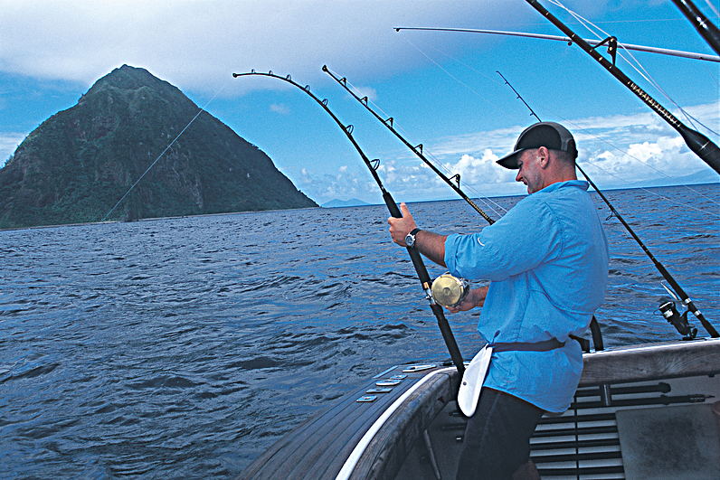 a personal recount about deep sea fishing